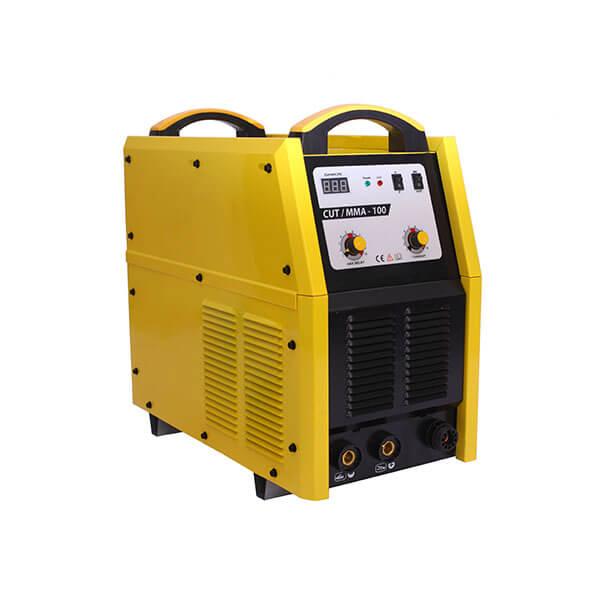 Cut/MMA-100 Eco 380V 19.5kVA 4-5bar Customized Plasma Welder Pilot Central Carbon Steel Cutting Machine