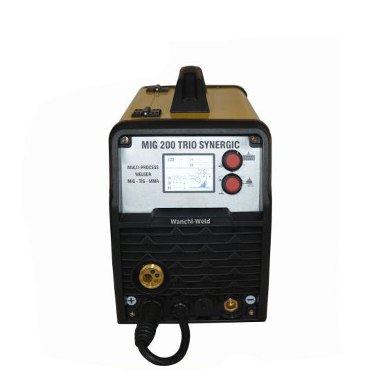 MIG-200 LCD Standard Packing CO2/Mixed Gas Welder