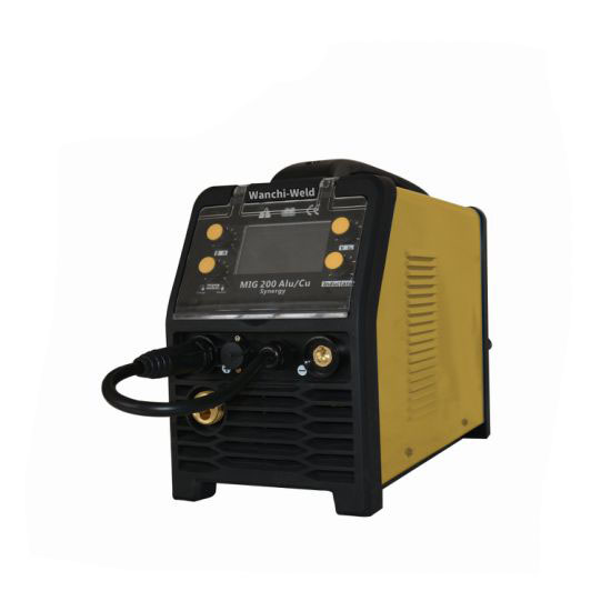 MIG-200SD LCD Display 110/220V 2t/4t Function Vrd 5kg Wire Welder